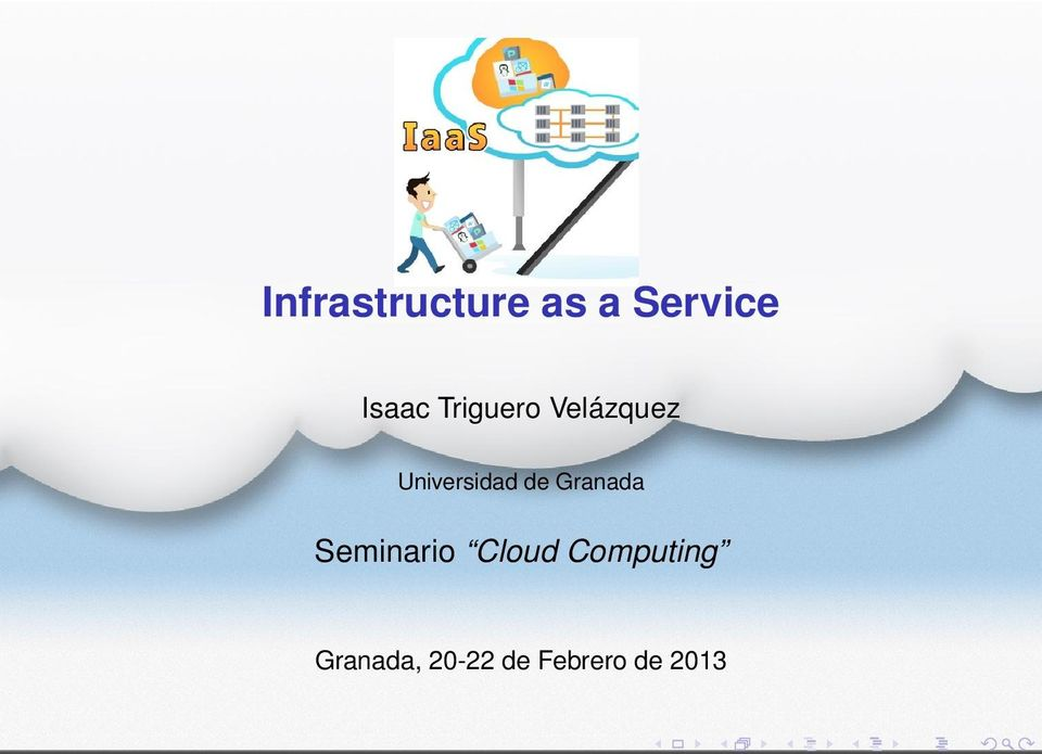Granada Seminario Cloud Computing