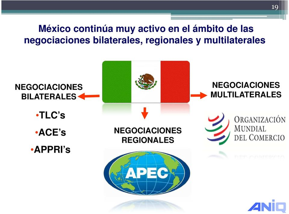 multilaterales NEGOCIACIONES BILATERALES