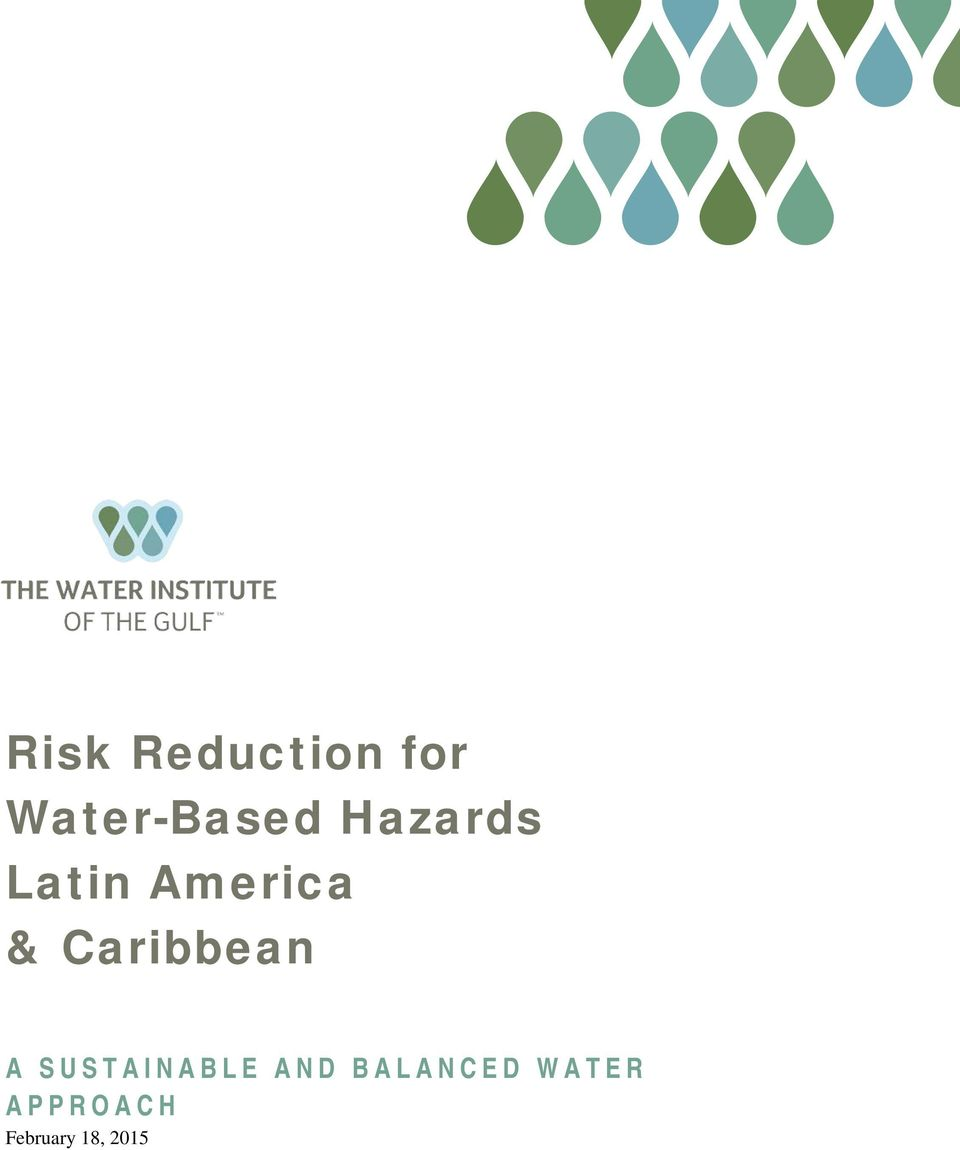 Caribbean A SUSTAINABLE AND