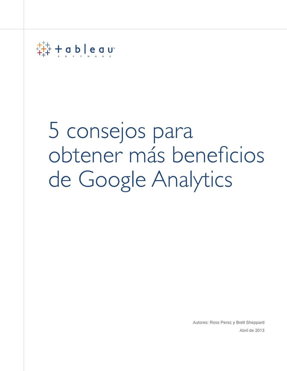 Analytics Autores: Ross