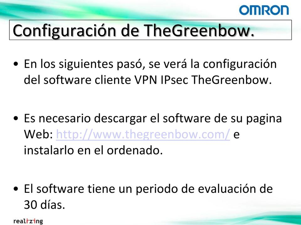 VPN IPsec TheGreenbow.