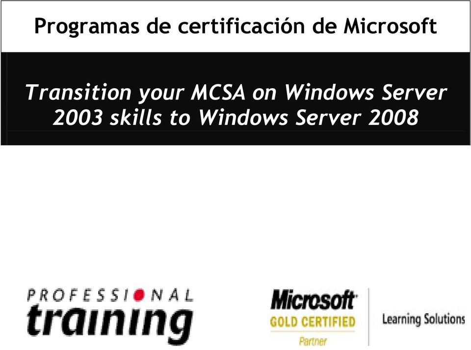 MCSA on Windows Server 2003
