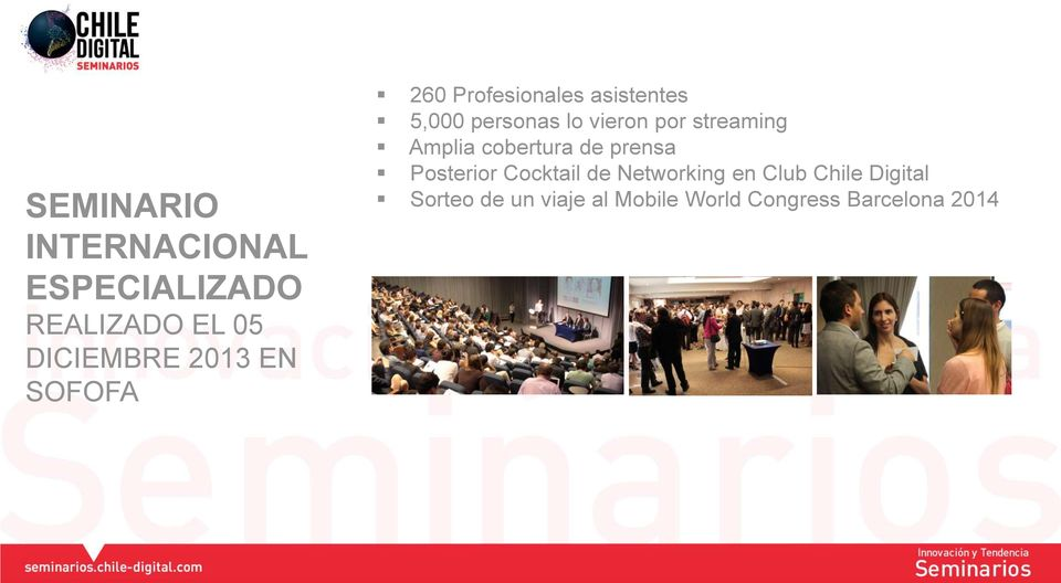 en Club Chile Digital Sorteo de un viaje al Mobile World Congress