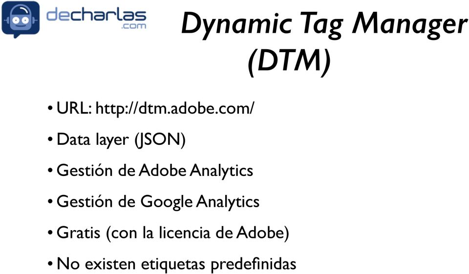 Analytics Gestión de Google Analytics Gratis