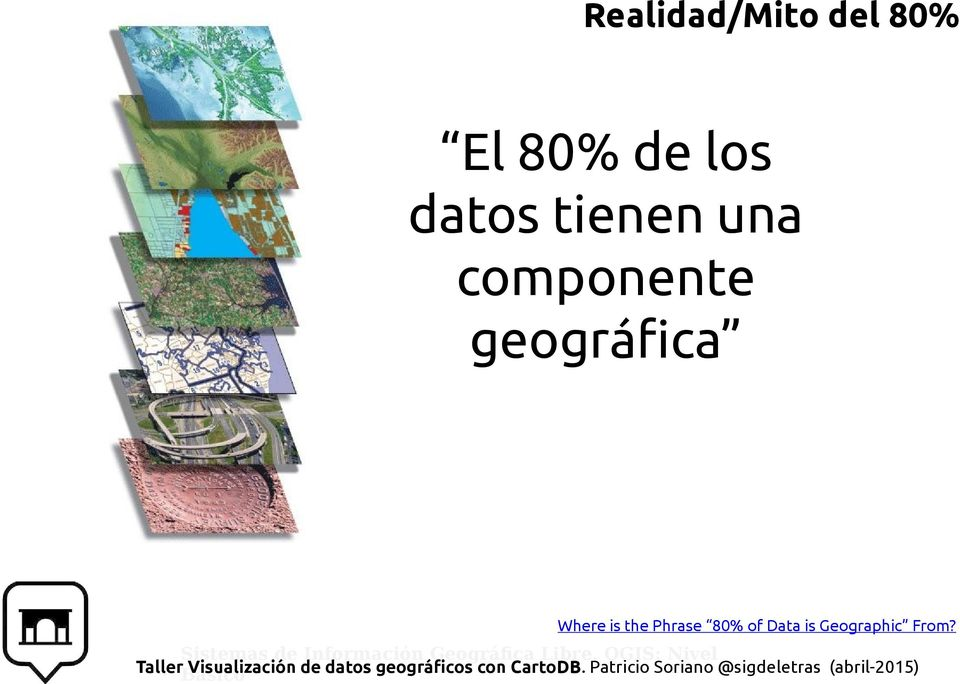 geográfica Where is the Phrase
