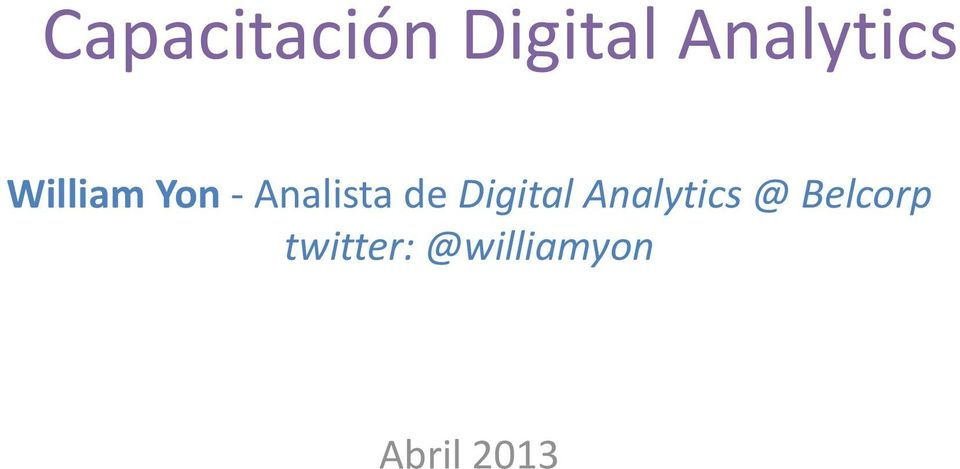Analista de Digital