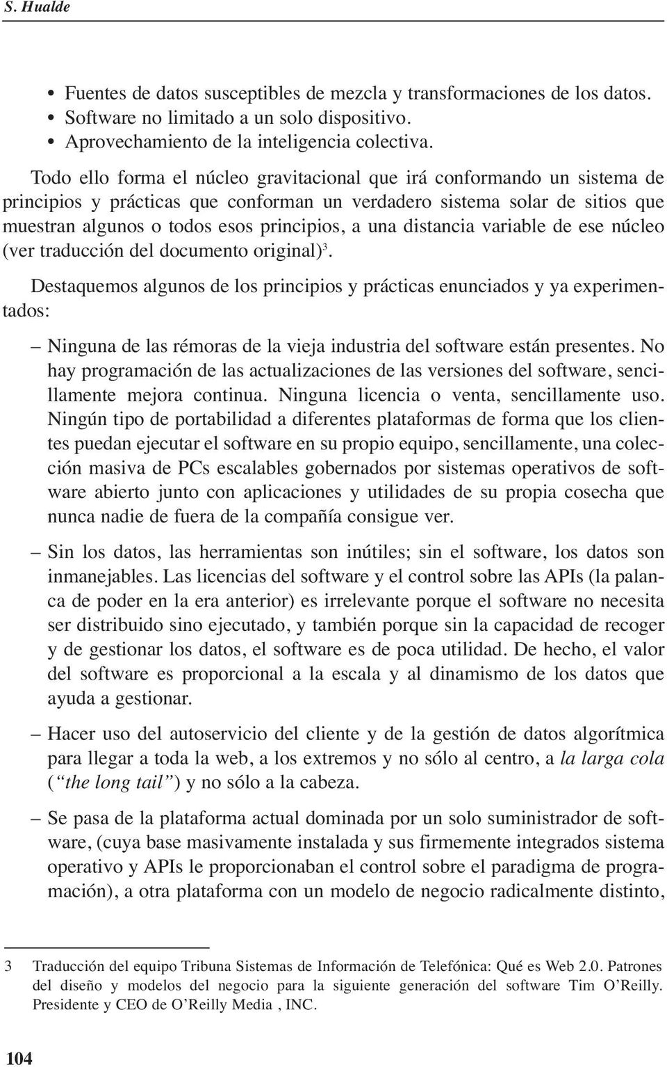 distancia variable de ese núcleo (ver traducción del documento original) 3.