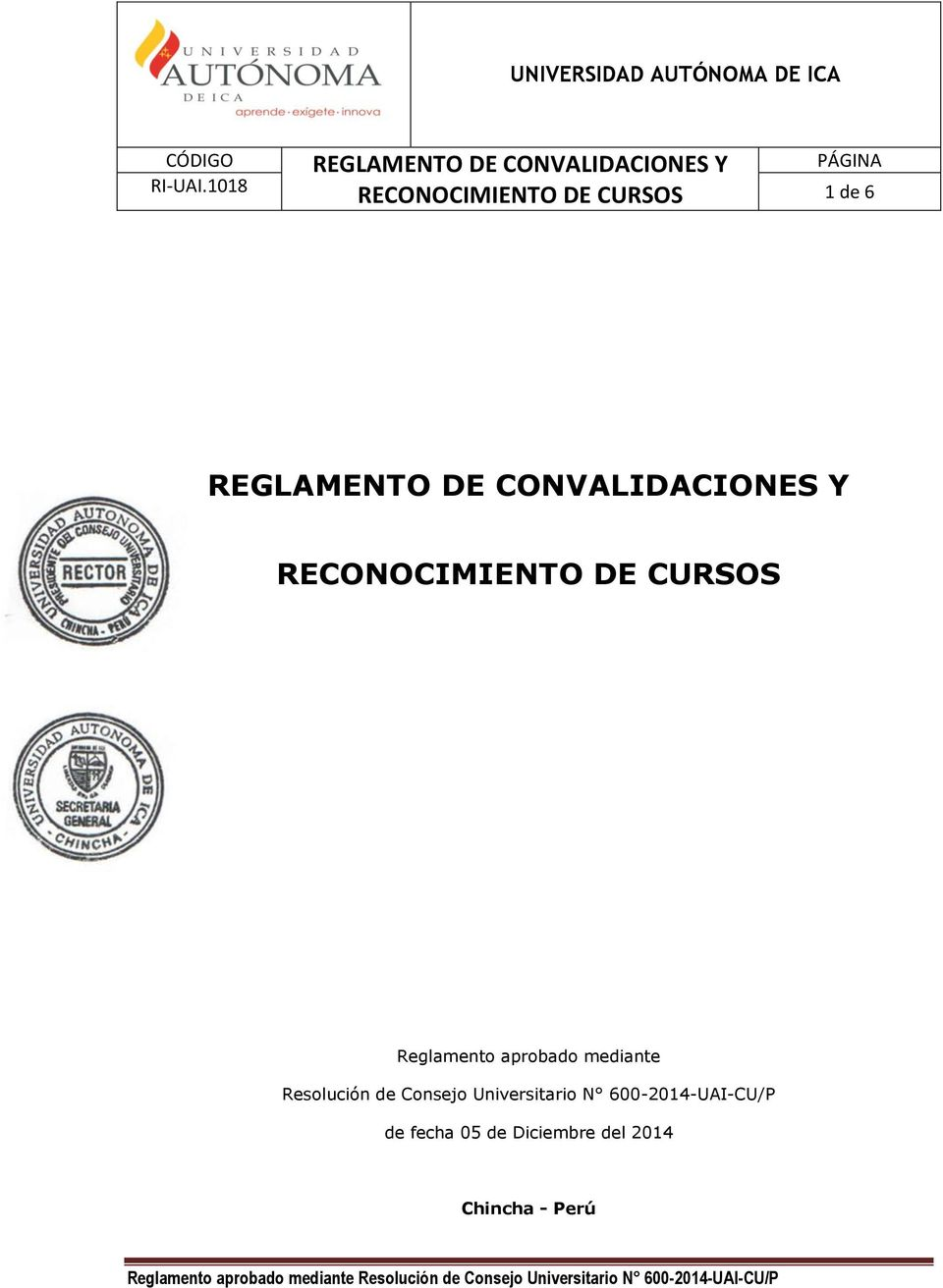 mediante Resolución de Consejo