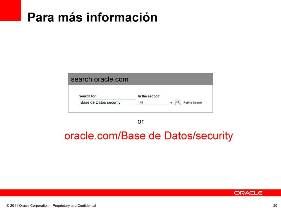 com//security 2011 Oracle