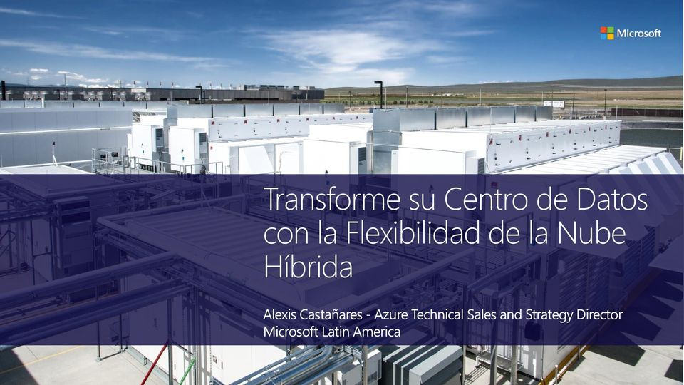 Castañares - Azure Technical Sales and