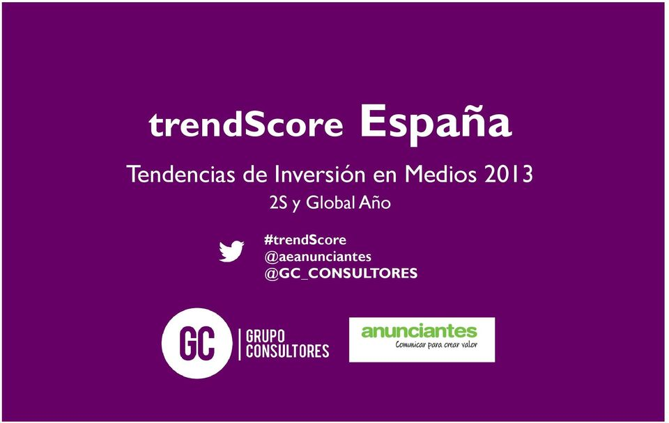 2S y Global Año #trendscore