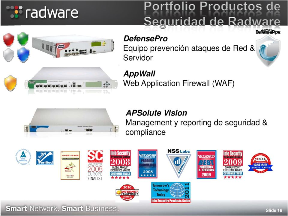 Firewall (WAF) APSolute Vision Management