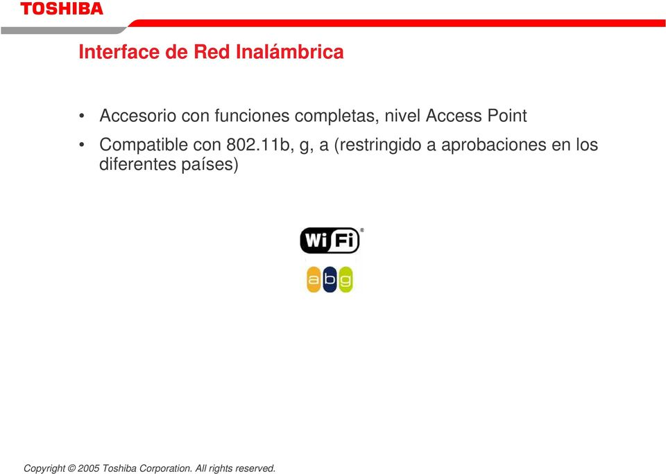 Point Compatible con 802.