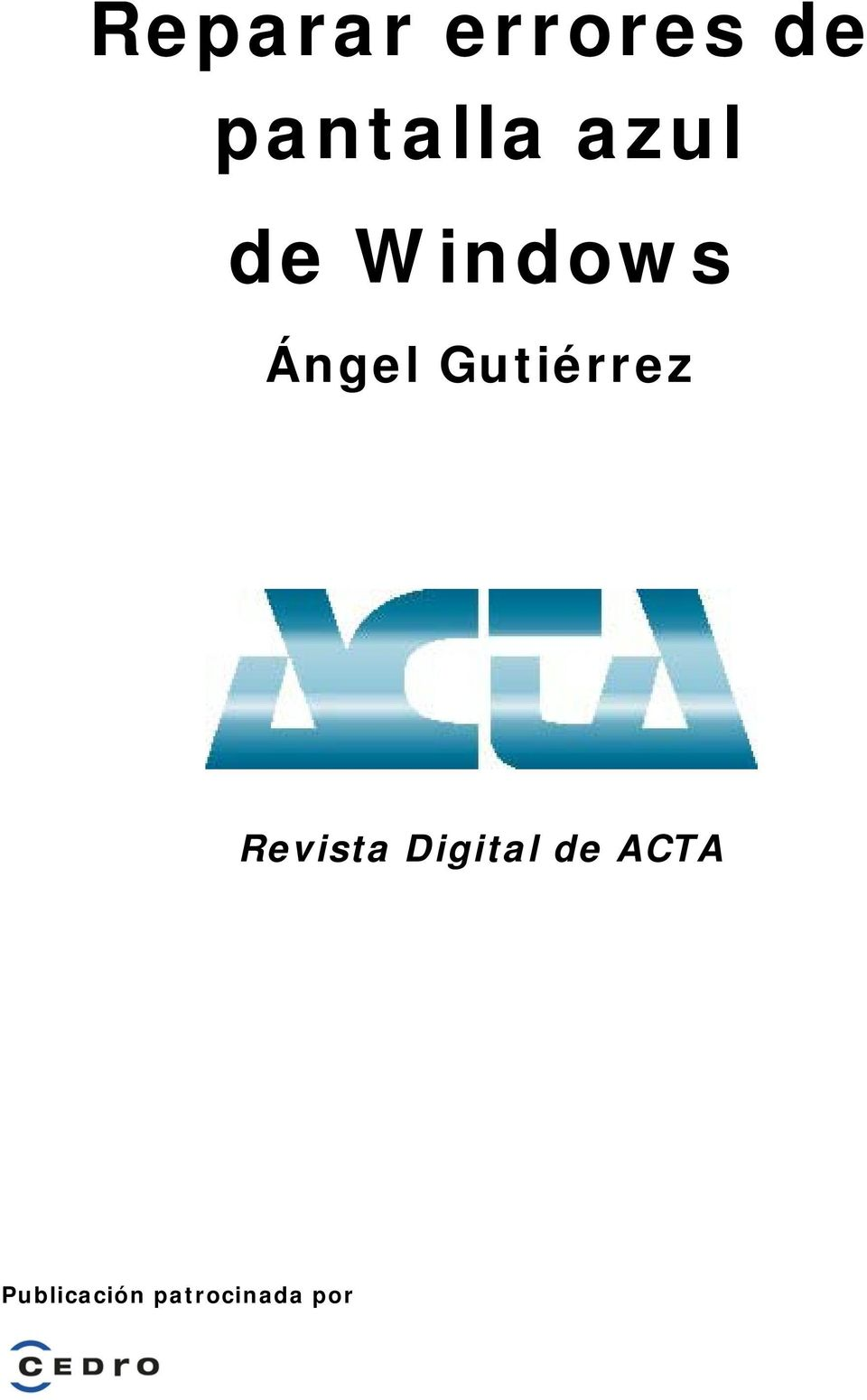 Gutiérrez Revista Digital