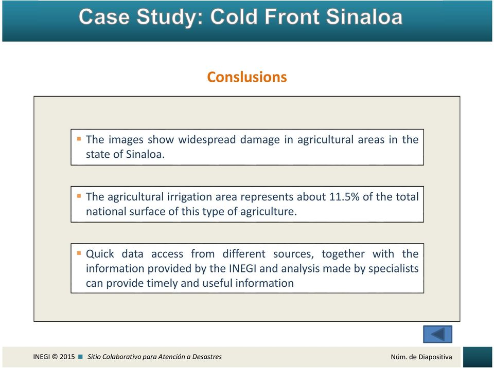 5% of the total national surface of this type of agriculture.