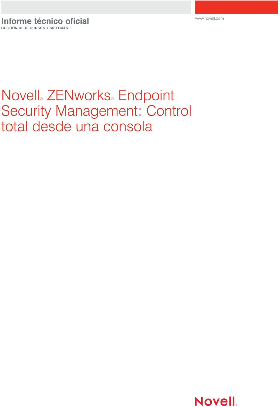 ZENworks Endpoint Security