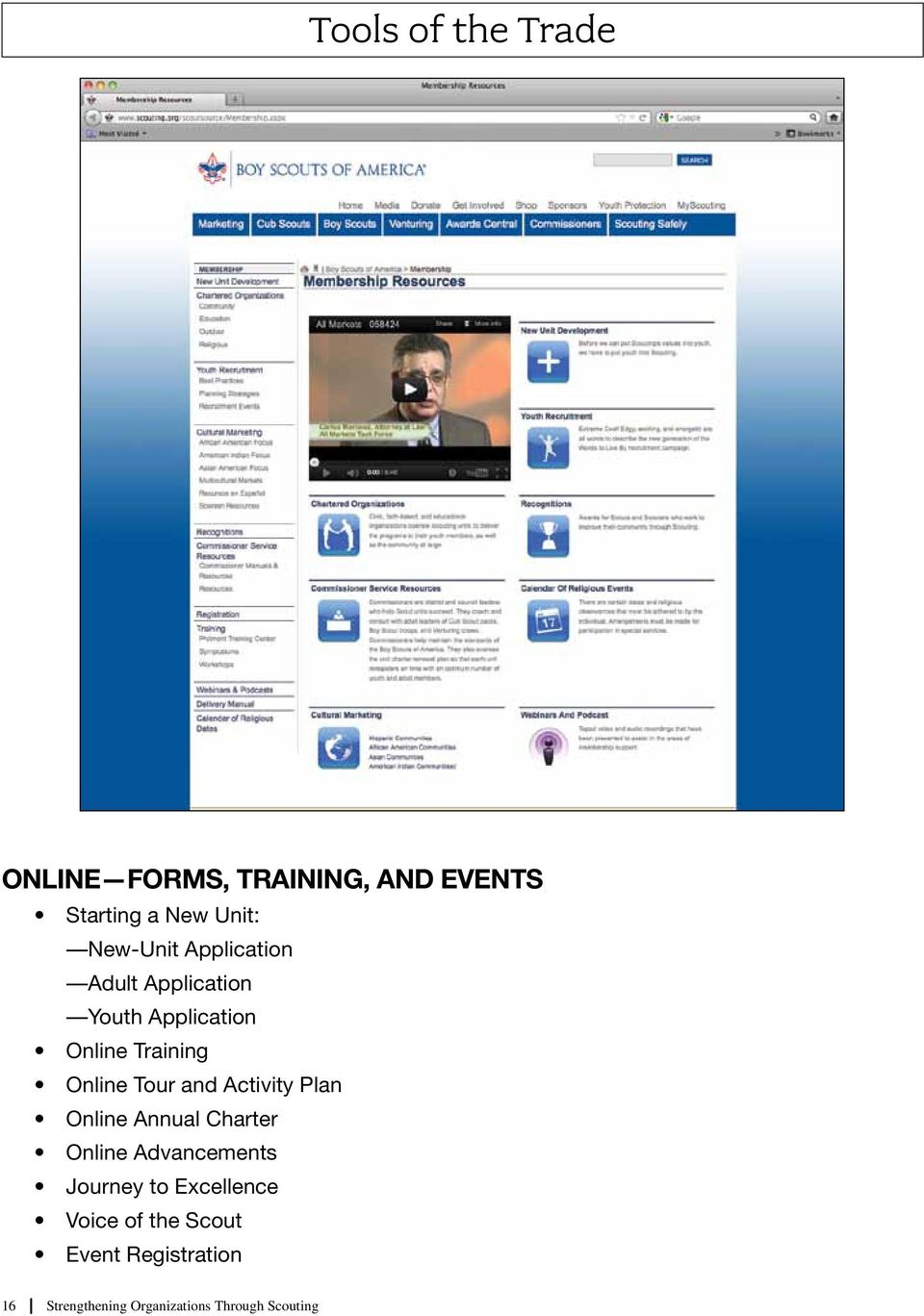 Tour and Activity Plan Online Annual Charter Online Advancements Journey to
