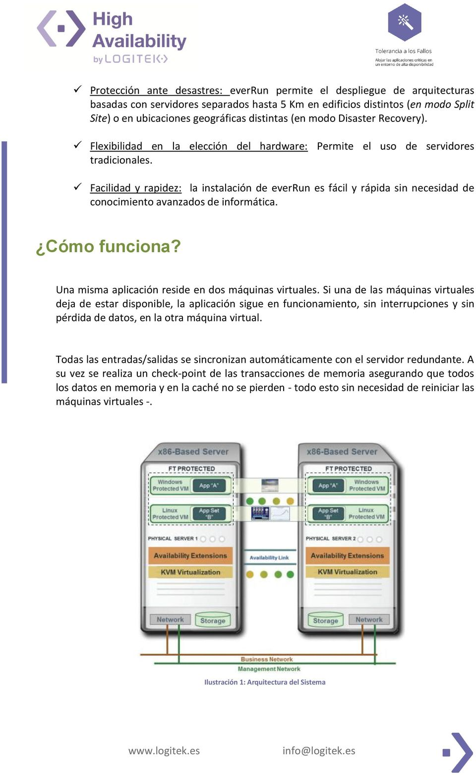 Aplicaciones redundantes mediante el uso de software de for Arquitectura x86 pdf