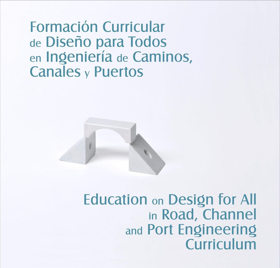 y Puertos Education on Design for All in