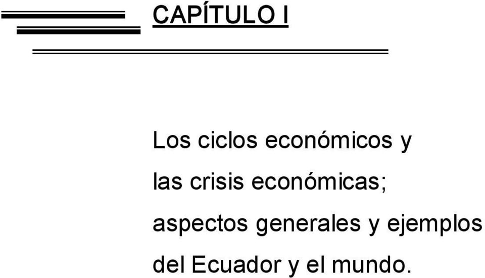 económicas; aspectos
