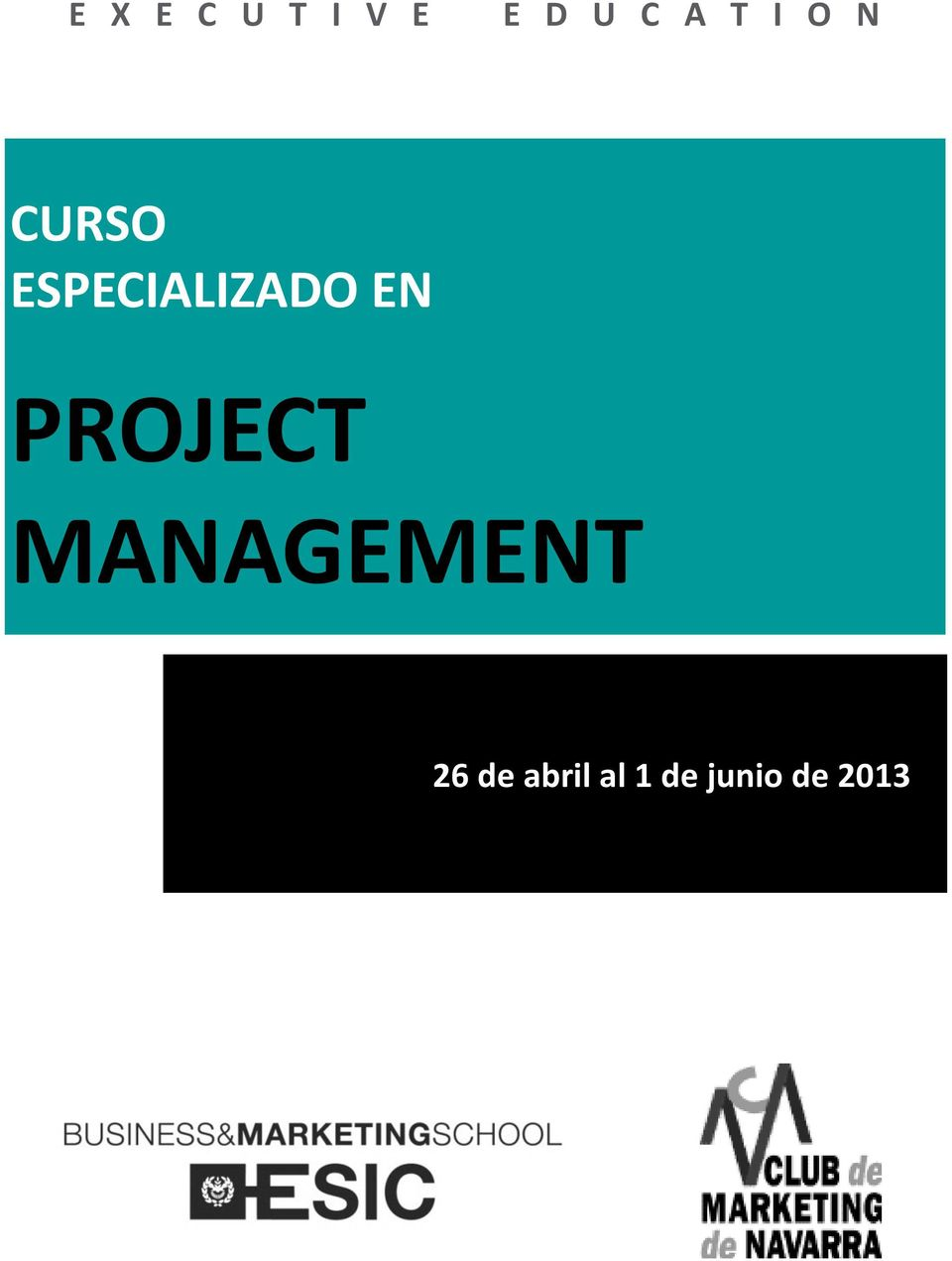 EN PROJECT MANAGEMENT 26 de