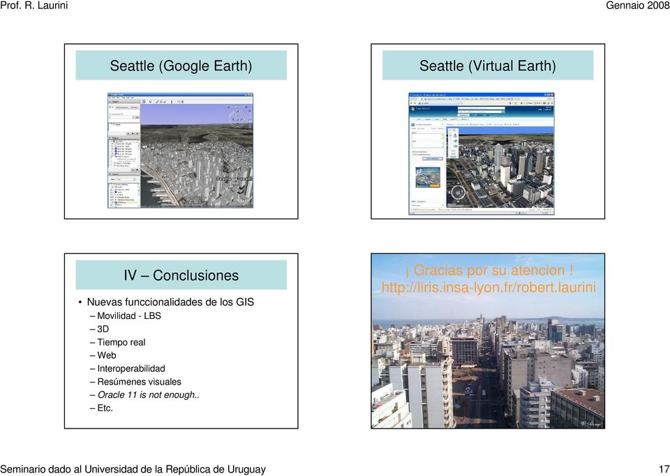 Resúmenes visuales Oracle 11 is not enough.. Etc. Gracias por su atencion!