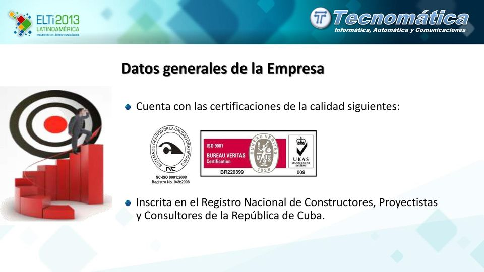 Inscrita en el Registro Nacional de