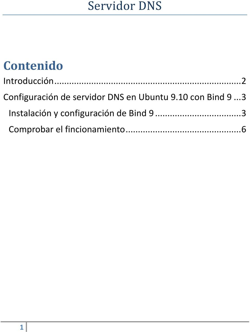 10 con Bind 9.