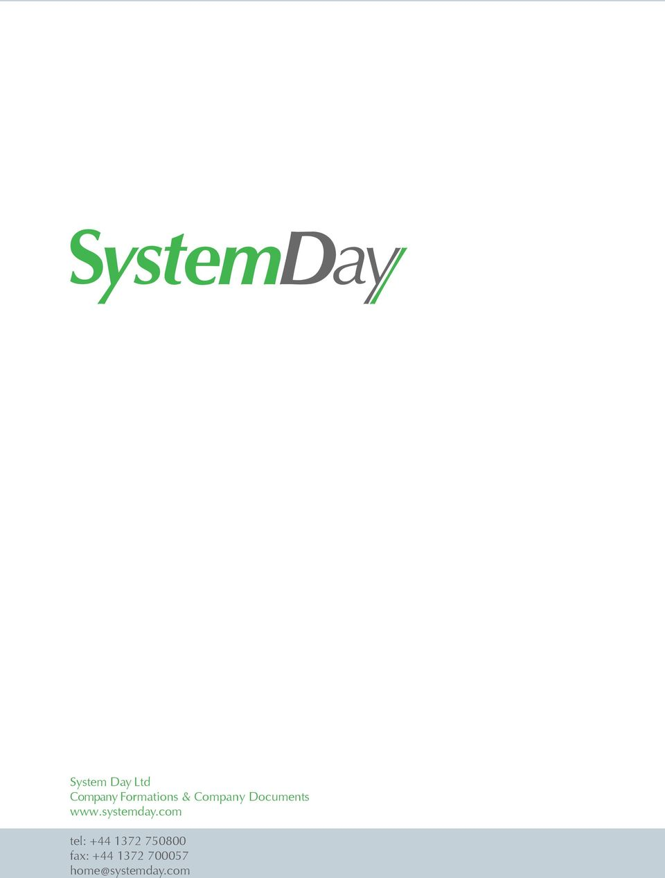 Company Documents www.systemday.