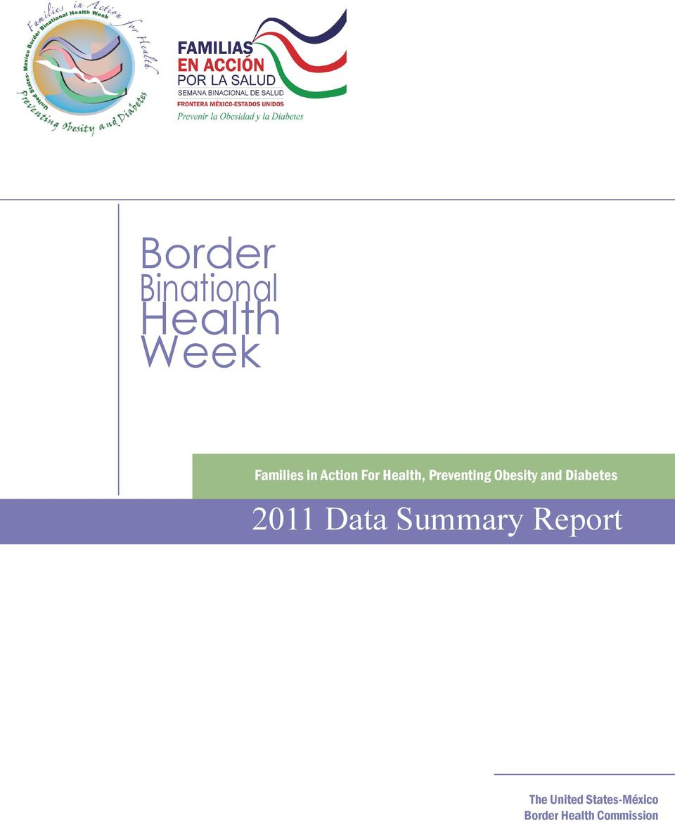 2011 Data Summary Report The
