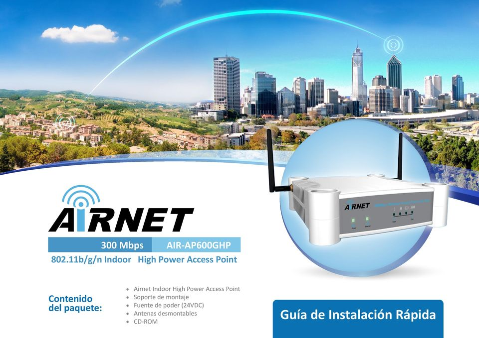 Power Access Point Soporte de montaje Fuente