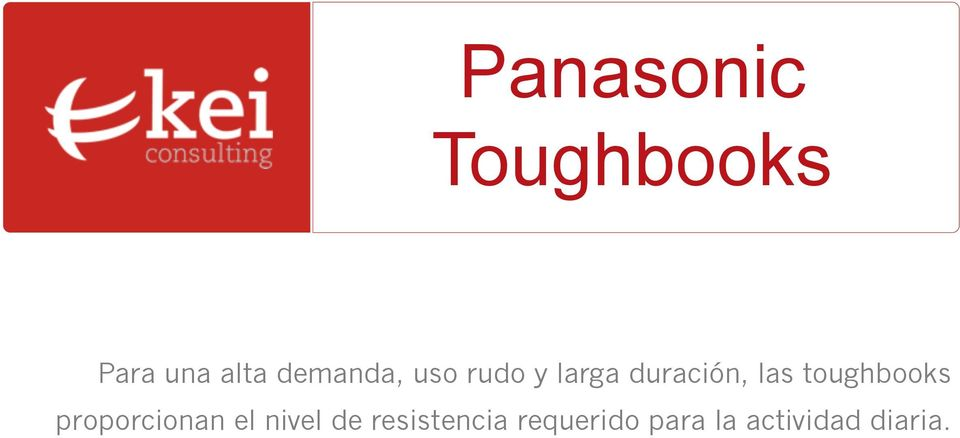 toughbooks proporcionan el nivel de