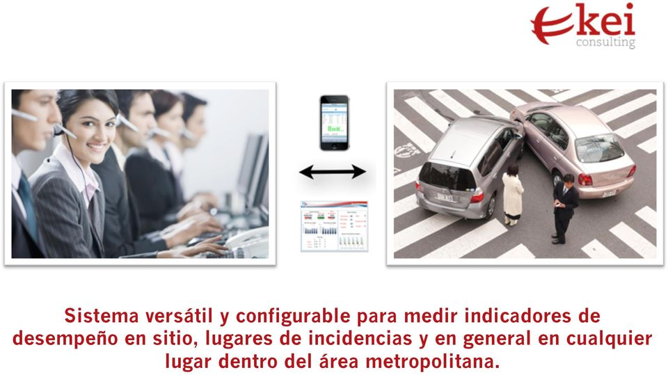 lugares de incidencias y en general en