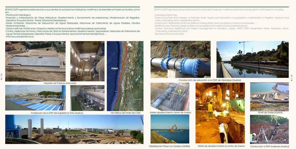 .. -Environment: Wastewater Treatment Stations, Drinking Water Treatment Stations, Environmental Studies,.