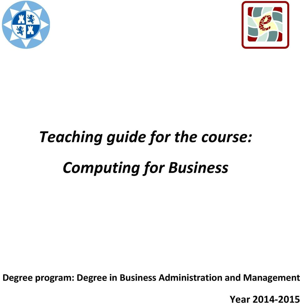 program: Degree in Business