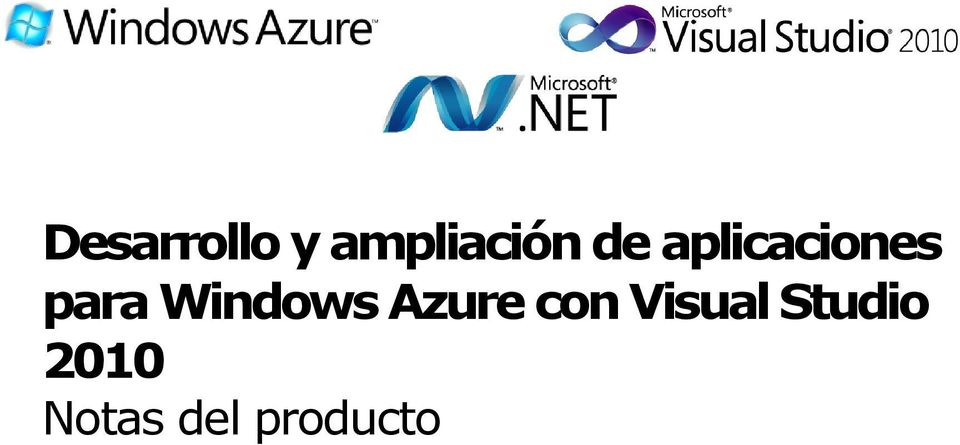 Windows Azure con Visual