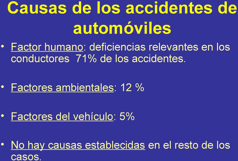 accidentes.