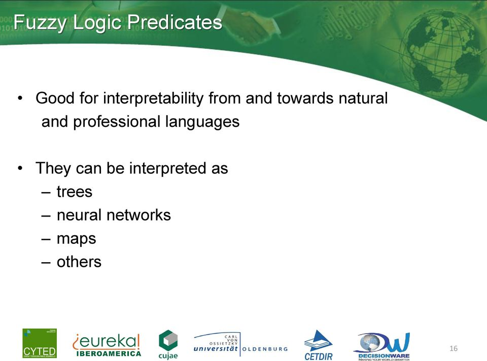 natural and professional languages They
