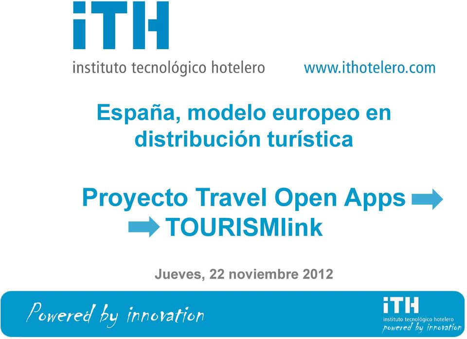 Travel Open Apps TOURISMlink