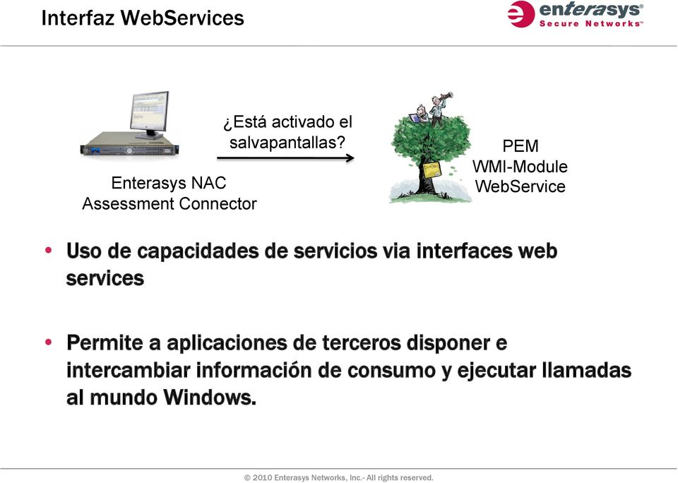 PEM WMI-Module WebService Uso de capacidades de servicios via interfaces