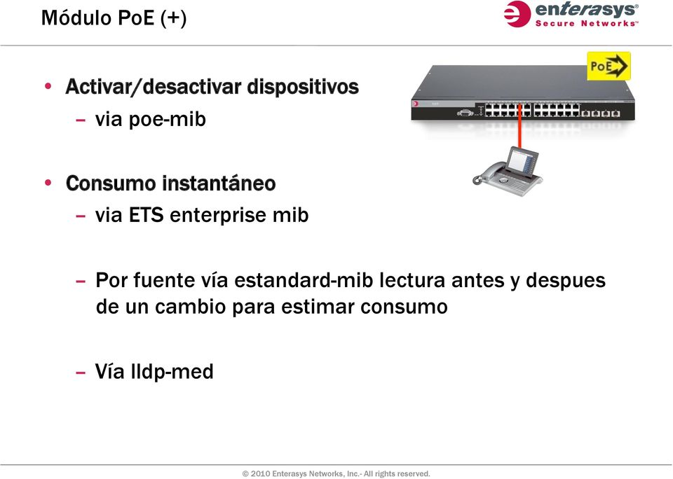 enterprise mib Por fuente vía estandard-mib