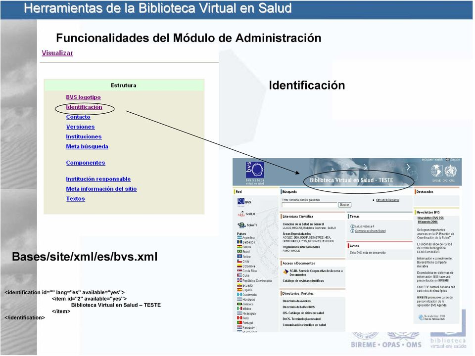 "xml <identification id="""" lang=""es"" available=""yes"">"
