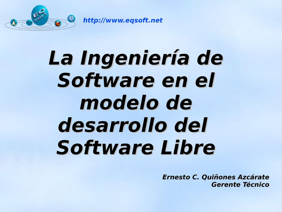 Software Libre Ernesto C.