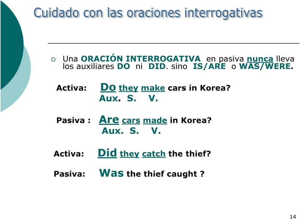 Activa: Do they make cars in Korea? Aux. S. V.