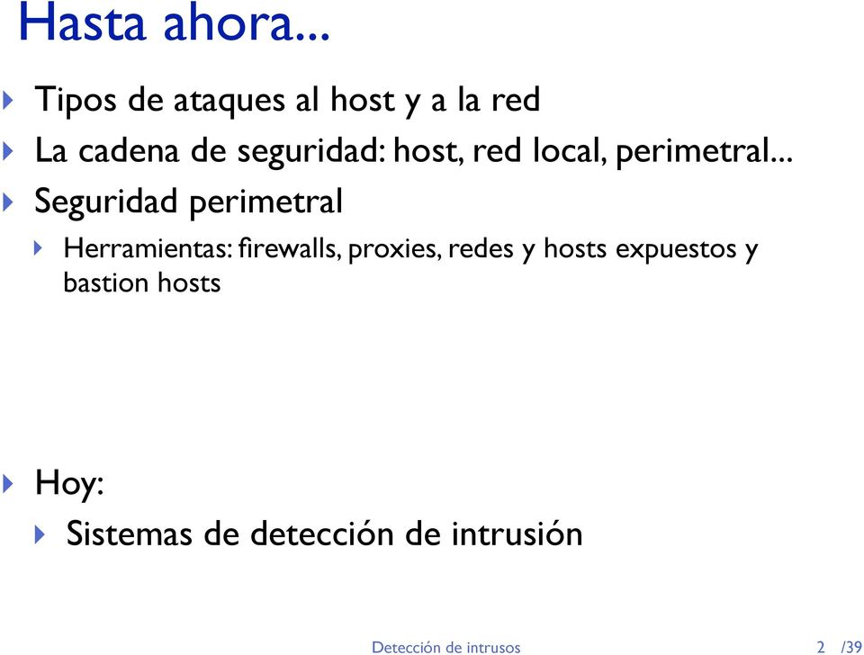 host, red local, perimetral.