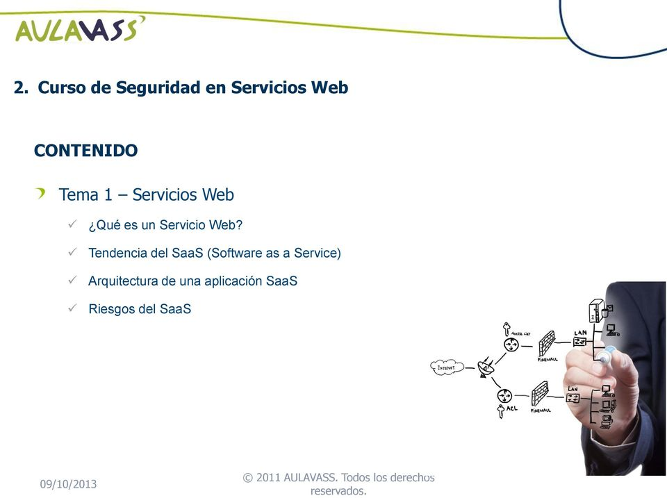 Tendencia del SaaS (Software as a Service)