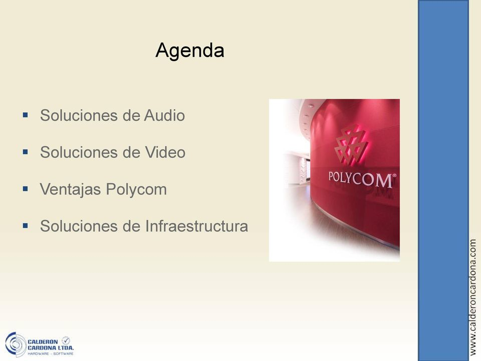 Video Ventajas Polycom
