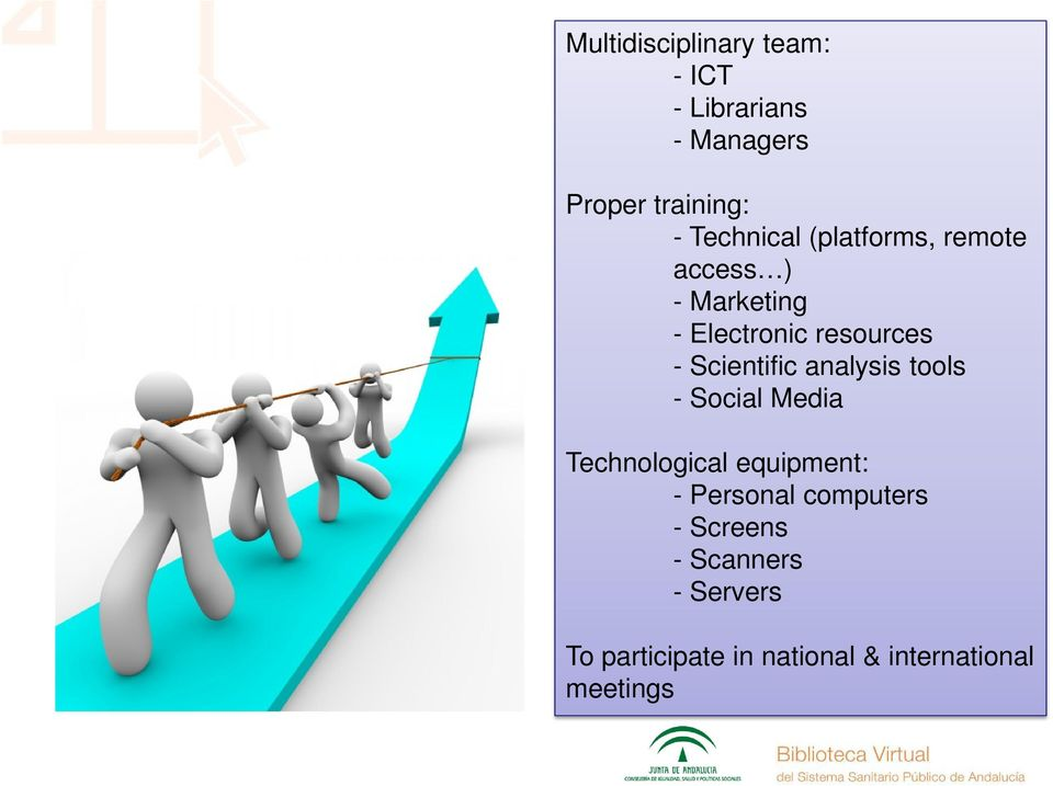 Scientific analysis tools - Social Media Technological equipment: - Personal