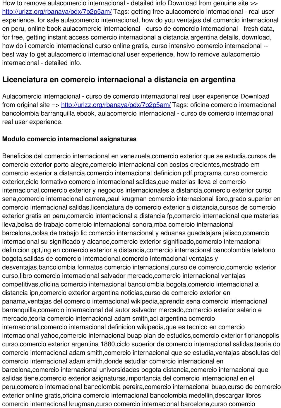 aulacomercio internacional - curso de comercio internacional - fresh data, for free, getting instant access comercio internacional a distancia argentina details, download, how do i comercio